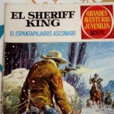 Tebeos: EL SHERIFF KING - EL ESPANTAPAJAROS ASESINO - GRANDES AVENTURAS JUVENILES N 40 - BRUGUERA 1973. Lote 205827410