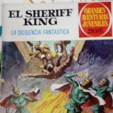Tebeos: EL SHERIFF KING - LA DILIGENCIA FANTASTICA - GRANDES AVENTURAS JUVENILES Nº 60 - BRUGUERA 1975. Lote 205827582