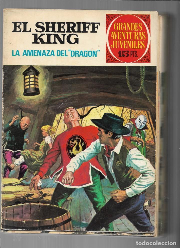 EL SHERIFF KING, AÑO 1971 COLECCIÓN COMPLETA SON 36 TEBEOS ORIGINALES Y DIFICILES DE COMPLETAR (Tebeos y Comics - Bruguera - Sheriff King)