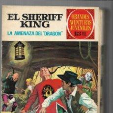 Tebeos: EL SHERIFF KING, AÑO 1971 COLECCIÓN COMPLETA SON 36 TEBEOS ORIGINALES Y DIFICILES DE COMPLETAR. Lote 205835837