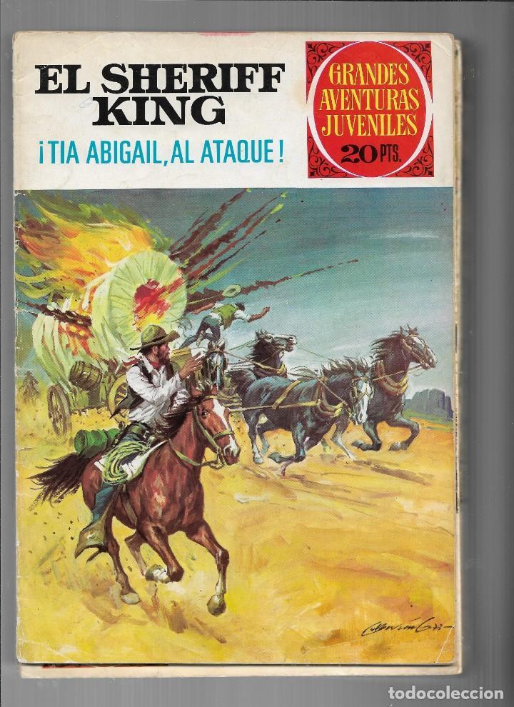 Tebeos: El Sheriff King, Año 1971 Colección Completa son 36 Tebeos Originales y dificiles de completar - Foto 34 - 215326910