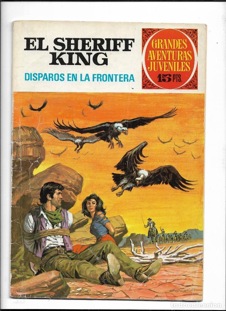 Tebeos: El Sheriff King, Año 1971 Colección Completa son 36 Tebeos Originales y dificiles de completar - Foto 35 - 215326910