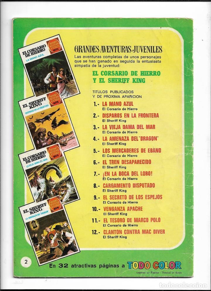 Tebeos: El Sheriff King, Año 1971 Colección Completa son 36 Tebeos Originales y dificiles de completar - Foto 36 - 215326910
