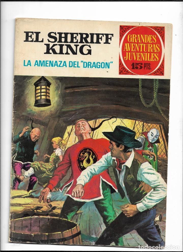 Tebeos: El Sheriff King, Año 1971 Colección Completa son 36 Tebeos Originales y dificiles de completar - Foto 37 - 215326910