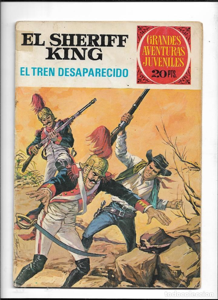 Tebeos: El Sheriff King, Año 1971 Colección Completa son 36 Tebeos Originales y dificiles de completar - Foto 38 - 215326910