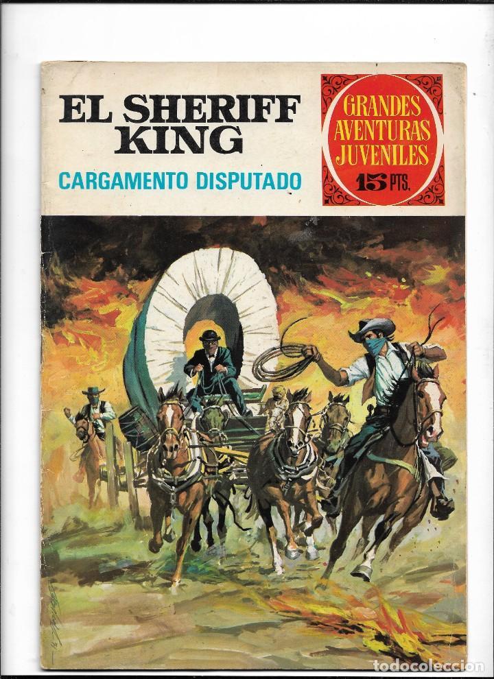 Tebeos: El Sheriff King, Año 1971 Colección Completa son 36 Tebeos Originales y dificiles de completar - Foto 39 - 215326910