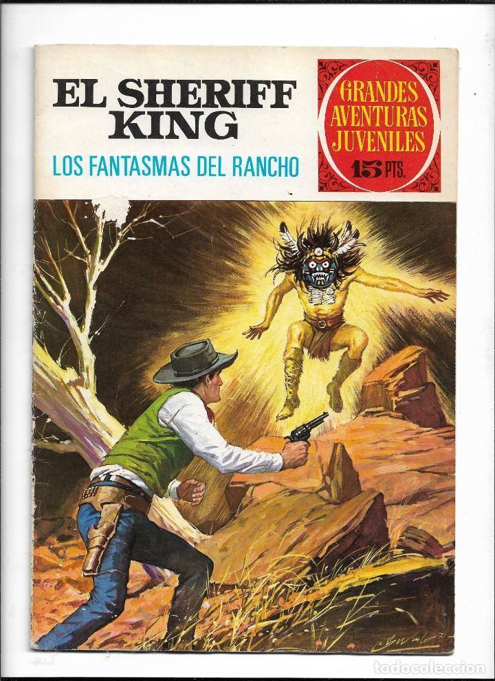 Tebeos: El Sheriff King, Año 1971 Colección Completa son 36 Tebeos Originales y dificiles de completar - Foto 40 - 215326910