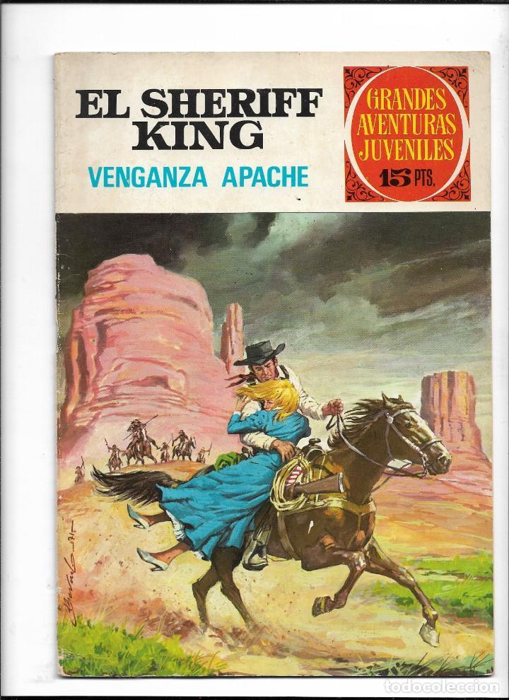 Tebeos: El Sheriff King, Año 1971 Colección Completa son 36 Tebeos Originales y dificiles de completar - Foto 2 - 215326910