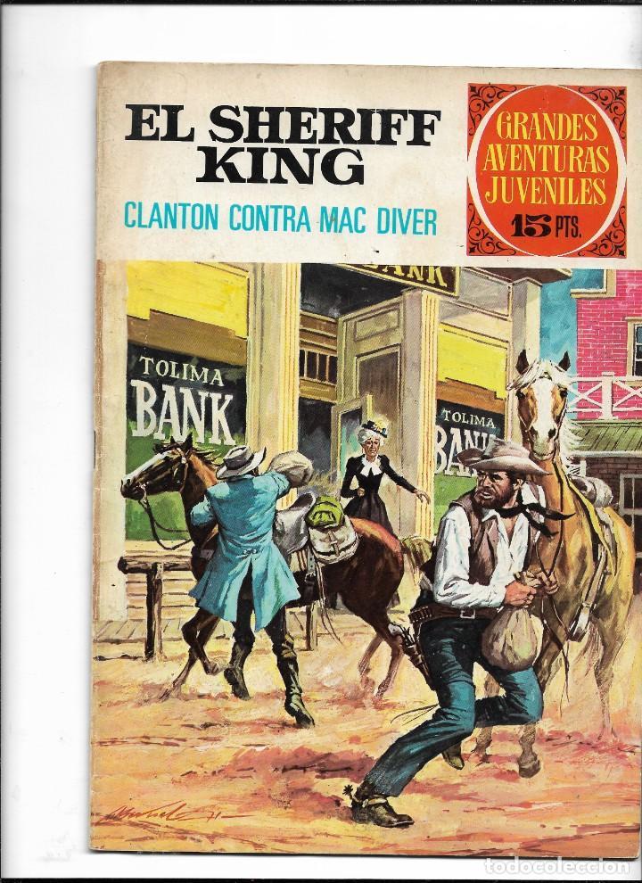 Tebeos: El Sheriff King, Año 1971 Colección Completa son 36 Tebeos Originales y dificiles de completar - Foto 3 - 215326910