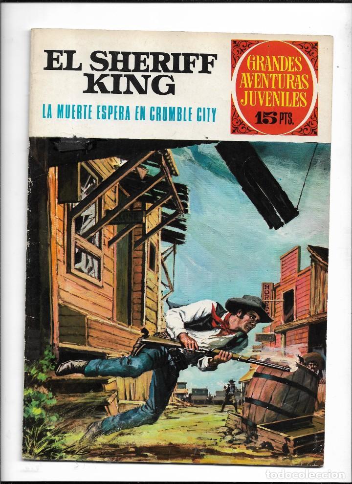 Tebeos: El Sheriff King, Año 1971 Colección Completa son 36 Tebeos Originales y dificiles de completar - Foto 4 - 215326910