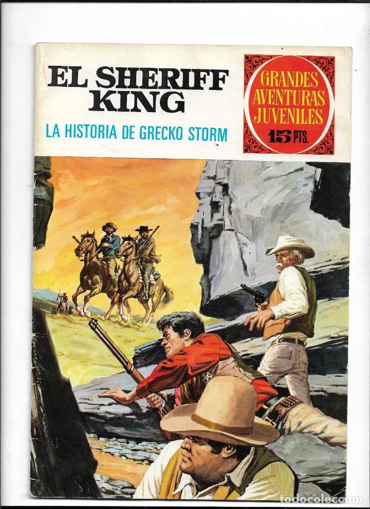 Tebeos: El Sheriff King, Año 1971 Colección Completa son 36 Tebeos Originales y dificiles de completar - Foto 6 - 215326910