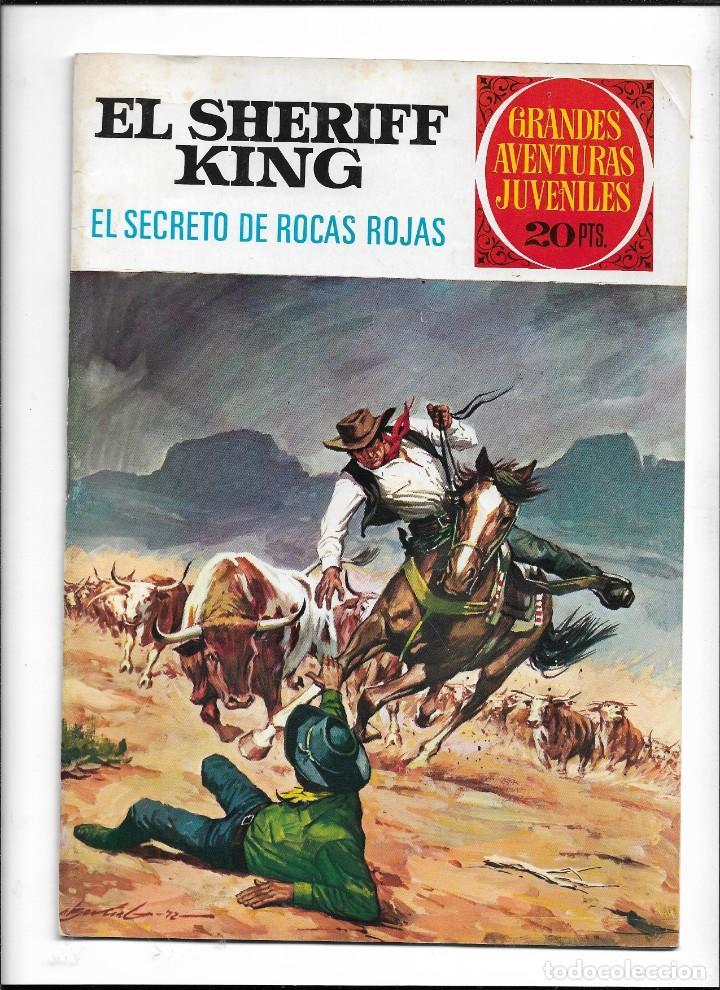 Tebeos: El Sheriff King, Año 1971 Colección Completa son 36 Tebeos Originales y dificiles de completar - Foto 7 - 215326910