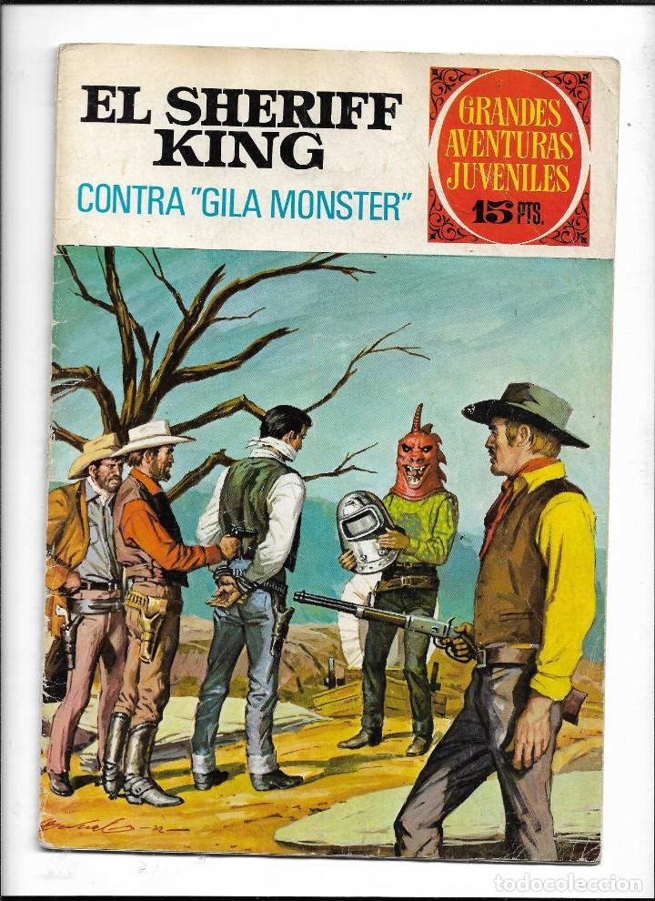 Tebeos: El Sheriff King, Año 1971 Colección Completa son 36 Tebeos Originales y dificiles de completar - Foto 10 - 215326910