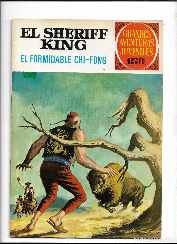 Tebeos: El Sheriff King, Año 1971 Colección Completa son 36 Tebeos Originales y dificiles de completar - Foto 11 - 215326910
