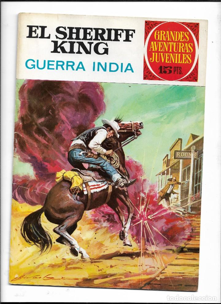 Tebeos: El Sheriff King, Año 1971 Colección Completa son 36 Tebeos Originales y dificiles de completar - Foto 12 - 215326910