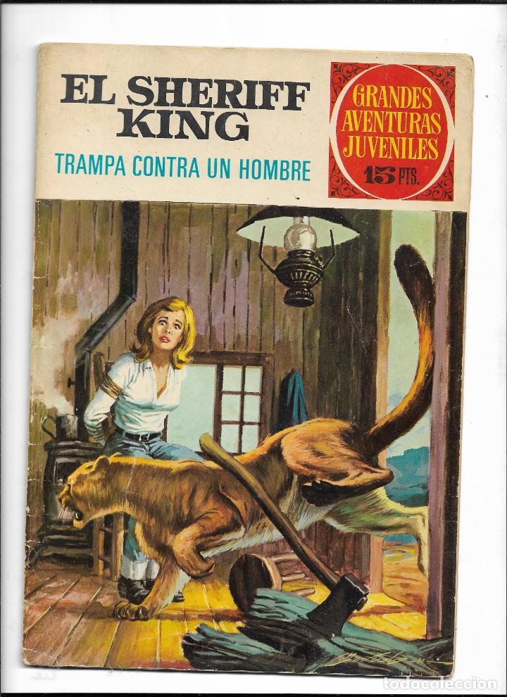 Tebeos: El Sheriff King, Año 1971 Colección Completa son 36 Tebeos Originales y dificiles de completar - Foto 13 - 215326910
