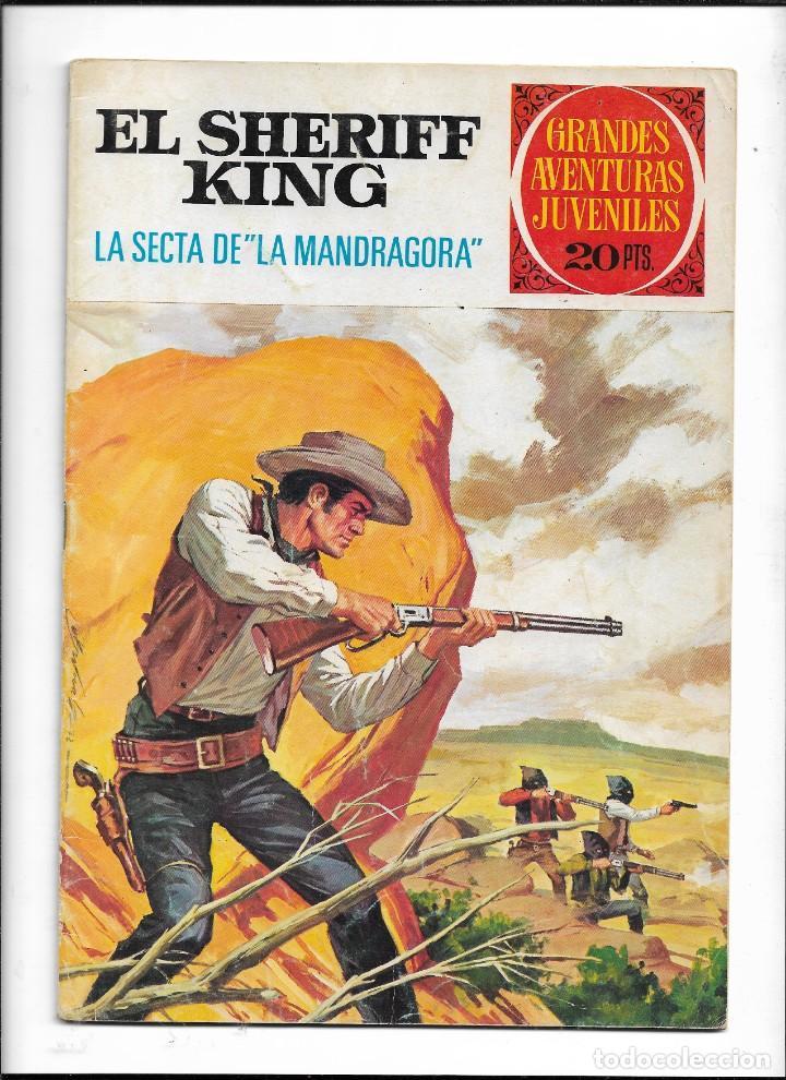 Tebeos: El Sheriff King, Año 1971 Colección Completa son 36 Tebeos Originales y dificiles de completar - Foto 14 - 215326910