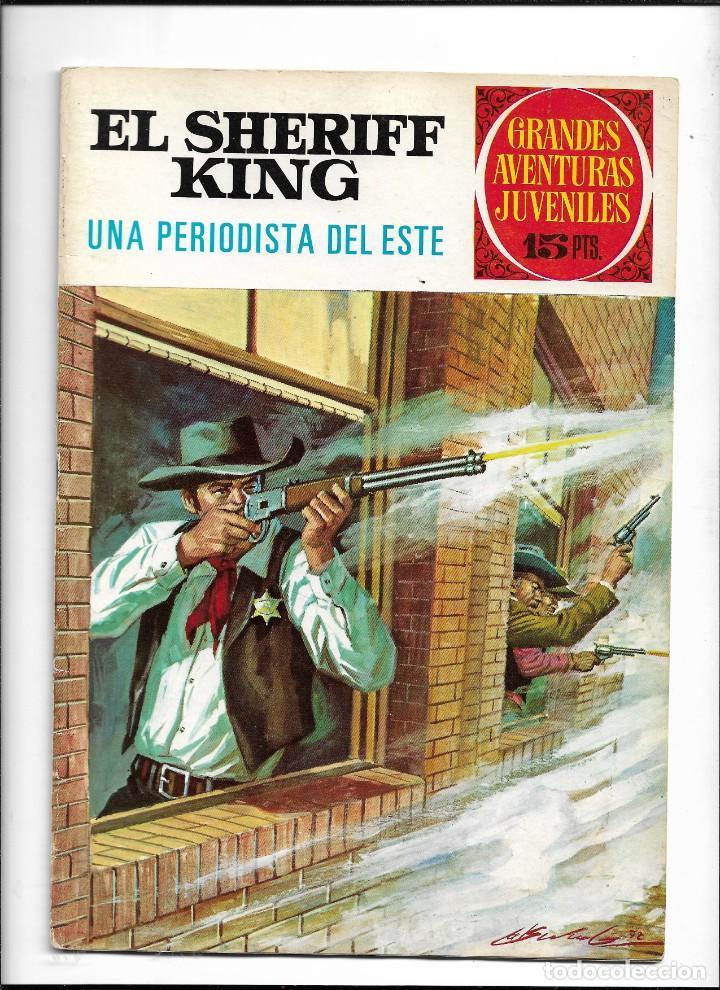 Tebeos: El Sheriff King, Año 1971 Colección Completa son 36 Tebeos Originales y dificiles de completar - Foto 15 - 215326910