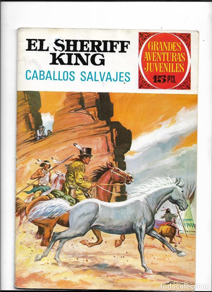 Tebeos: El Sheriff King, Año 1971 Colección Completa son 36 Tebeos Originales y dificiles de completar - Foto 16 - 215326910