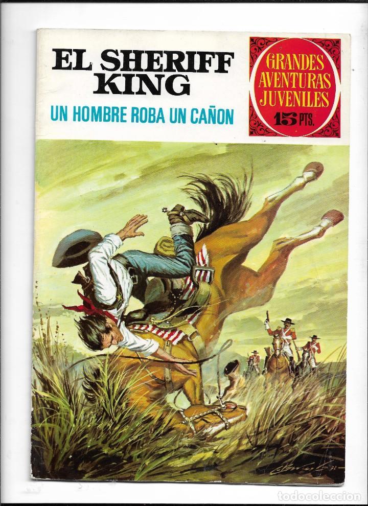 Tebeos: El Sheriff King, Año 1971 Colección Completa son 36 Tebeos Originales y dificiles de completar - Foto 17 - 215326910