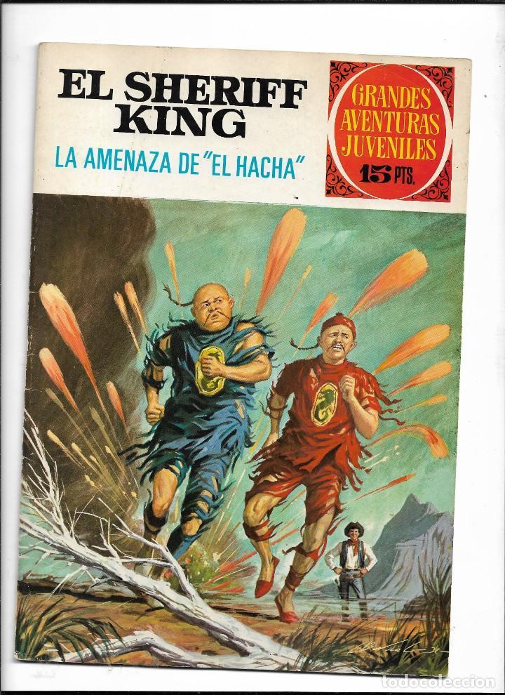 Tebeos: El Sheriff King, Año 1971 Colección Completa son 36 Tebeos Originales y dificiles de completar - Foto 18 - 215326910