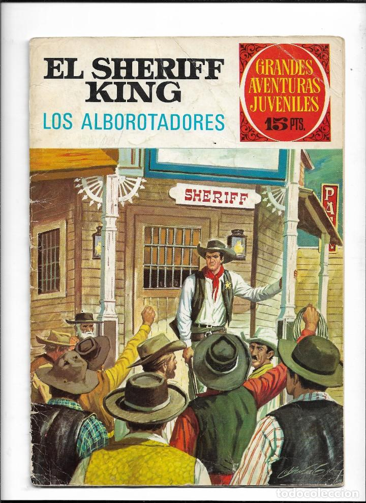 Tebeos: El Sheriff King, Año 1971 Colección Completa son 36 Tebeos Originales y dificiles de completar - Foto 19 - 215326910