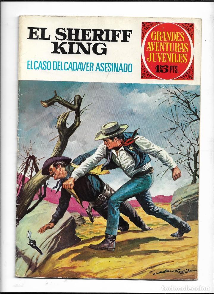 Tebeos: El Sheriff King, Año 1971 Colección Completa son 36 Tebeos Originales y dificiles de completar - Foto 20 - 215326910