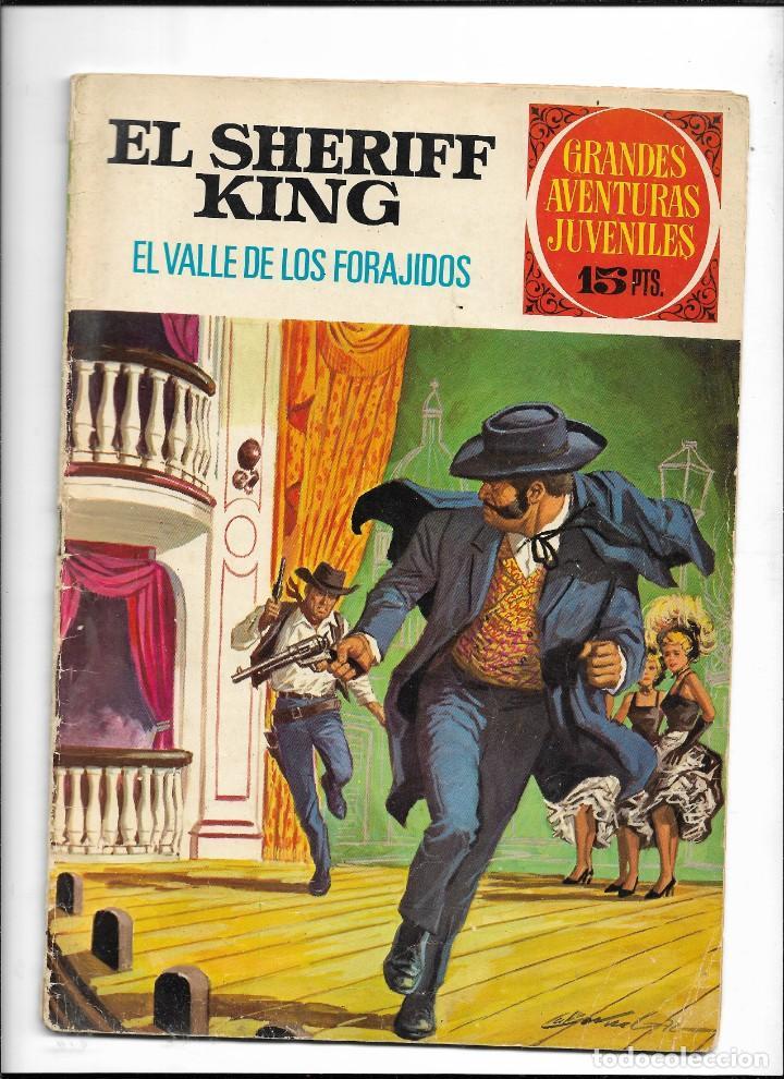 Tebeos: El Sheriff King, Año 1971 Colección Completa son 36 Tebeos Originales y dificiles de completar - Foto 21 - 215326910