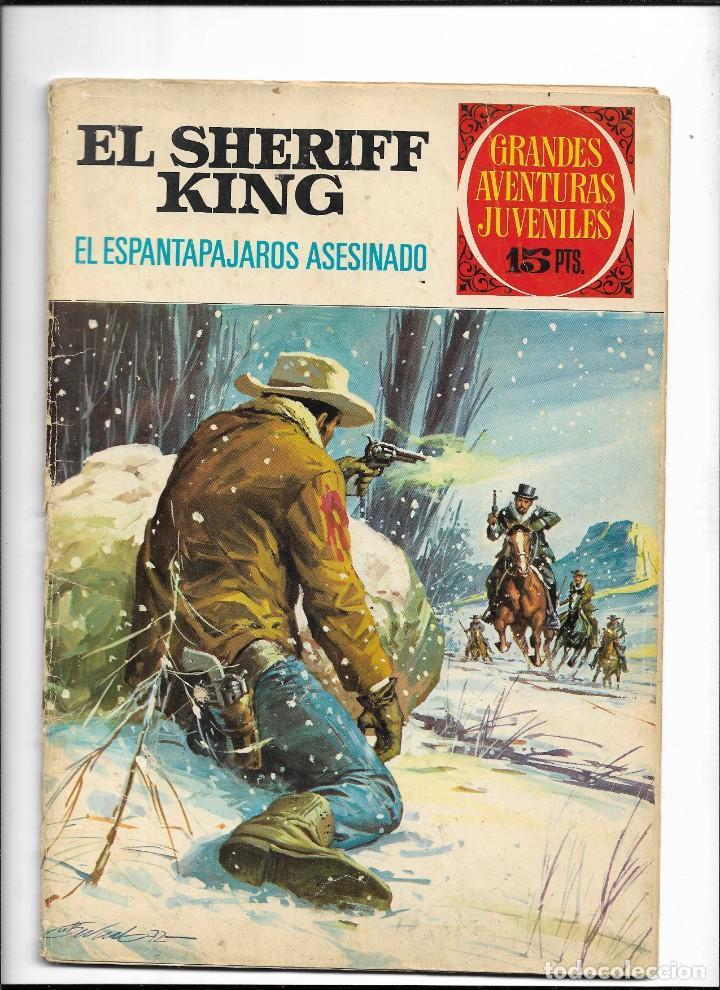 Tebeos: El Sheriff King, Año 1971 Colección Completa son 36 Tebeos Originales y dificiles de completar - Foto 22 - 215326910
