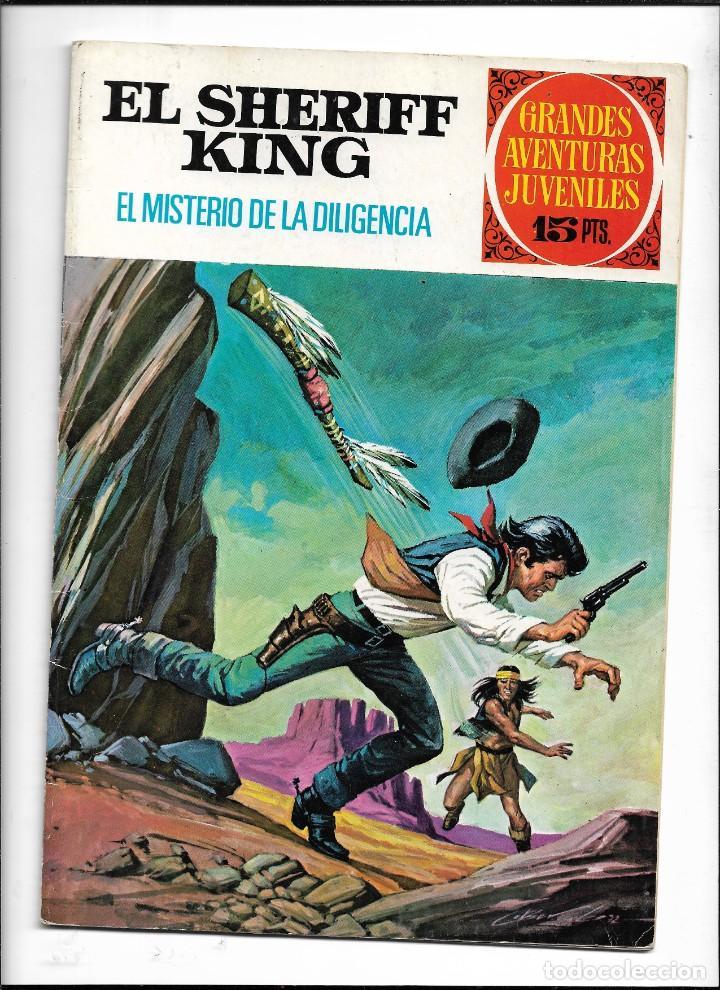 Tebeos: El Sheriff King, Año 1971 Colección Completa son 36 Tebeos Originales y dificiles de completar - Foto 23 - 215326910