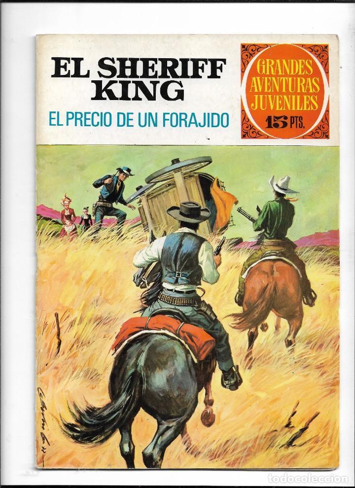 Tebeos: El Sheriff King, Año 1971 Colección Completa son 36 Tebeos Originales y dificiles de completar - Foto 24 - 215326910