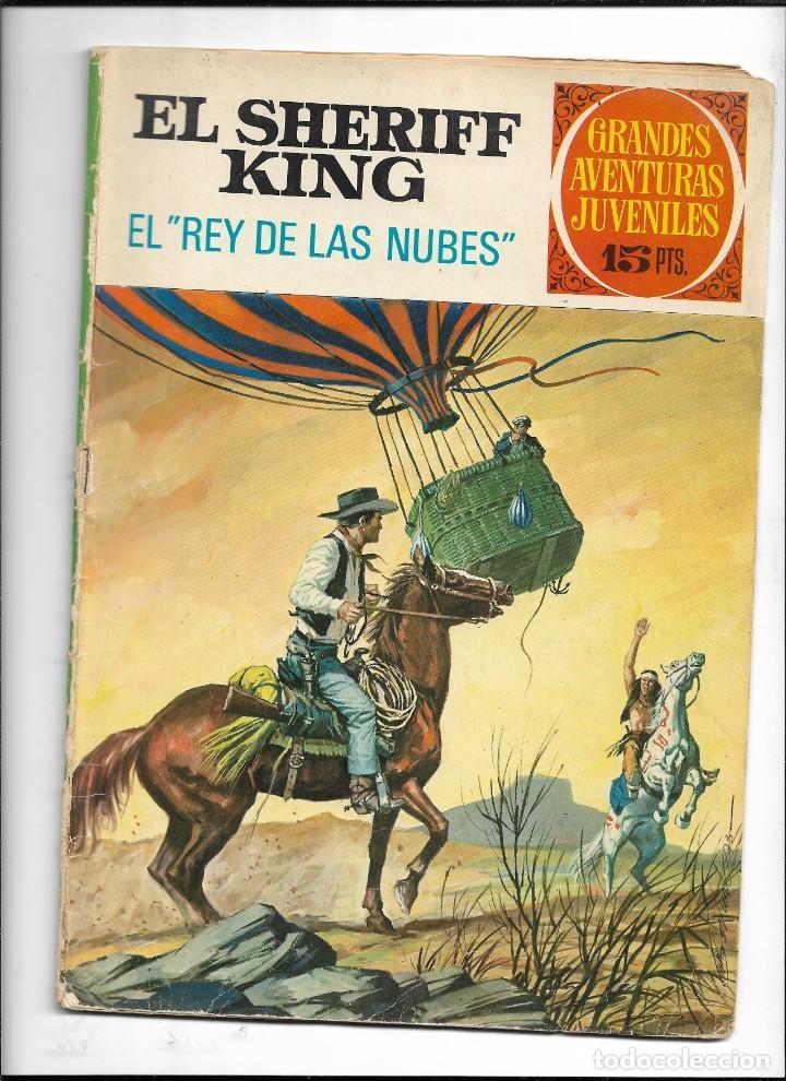 Tebeos: El Sheriff King, Año 1971 Colección Completa son 36 Tebeos Originales y dificiles de completar - Foto 25 - 215326910