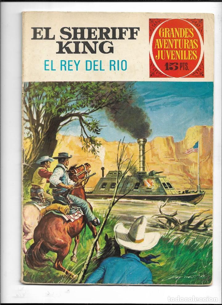 Tebeos: El Sheriff King, Año 1971 Colección Completa son 36 Tebeos Originales y dificiles de completar - Foto 27 - 215326910