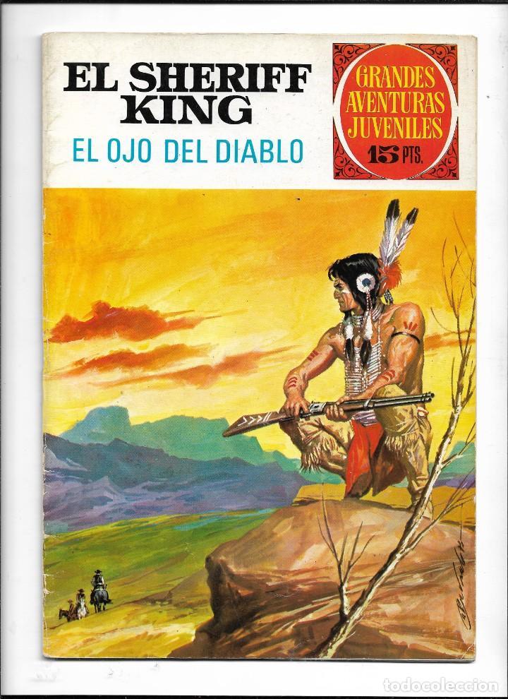 Tebeos: El Sheriff King, Año 1971 Colección Completa son 36 Tebeos Originales y dificiles de completar - Foto 28 - 215326910