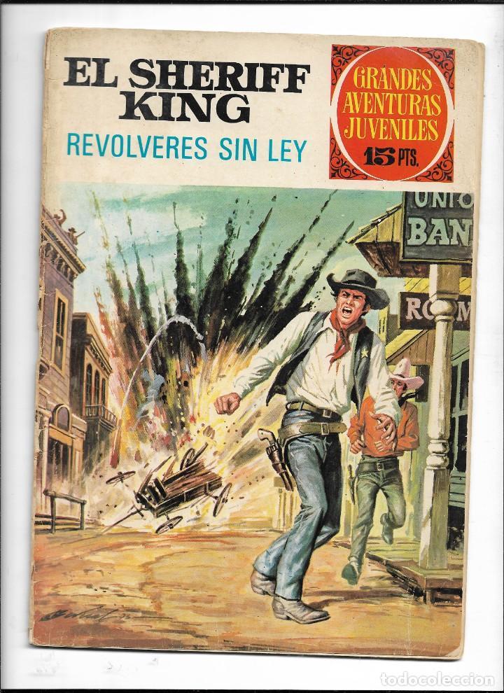 Tebeos: El Sheriff King, Año 1971 Colección Completa son 36 Tebeos Originales y dificiles de completar - Foto 29 - 215326910
