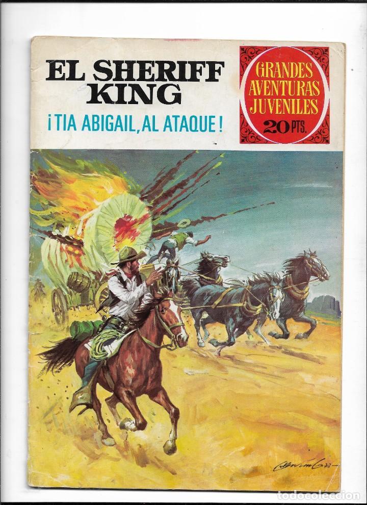 Tebeos: El Sheriff King, Año 1971 Colección Completa son 36 Tebeos Originales y dificiles de completar - Foto 31 - 215326910