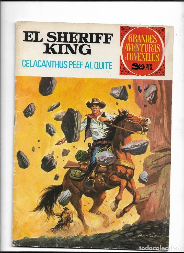 Tebeos: El Sheriff King, Año 1971 Colección Completa son 36 Tebeos Originales y dificiles de completar - Foto 32 - 215326910