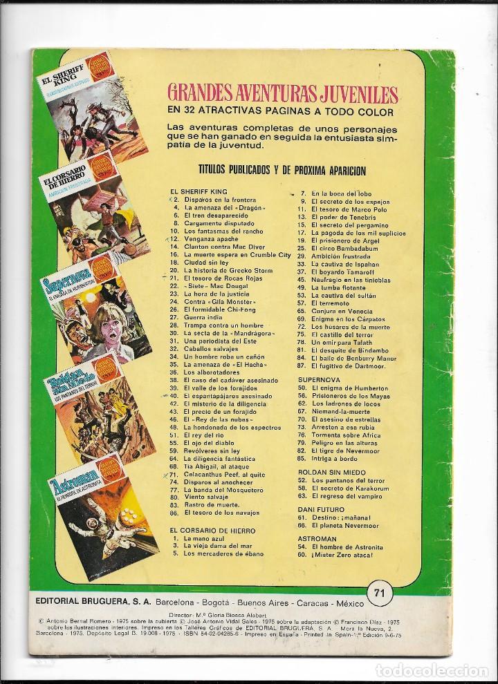 Tebeos: El Sheriff King, Año 1971 Colección Completa son 36 Tebeos Originales y dificiles de completar - Foto 33 - 215326910