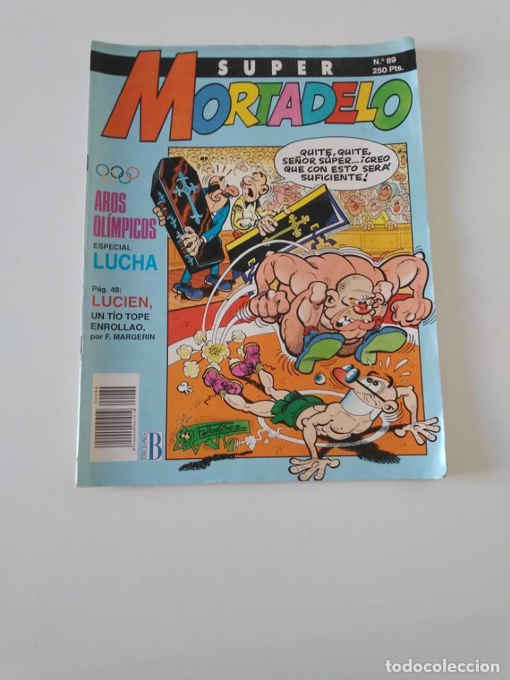 SUPER MORTADELO NÚMERO 89 1991 EDICIONES B (Tebeos y Comics - Bruguera - Mortadelo)