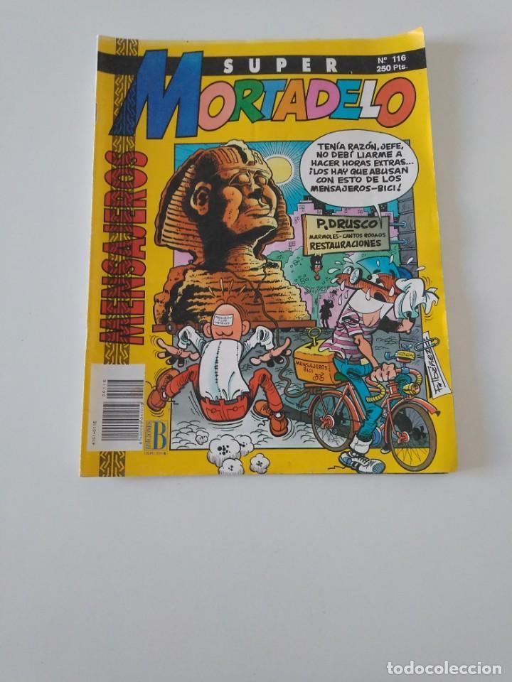SUPER MORTADELO NÚMERO 116 1992 EDICIONES B (Tebeos y Comics - Bruguera - Mortadelo)