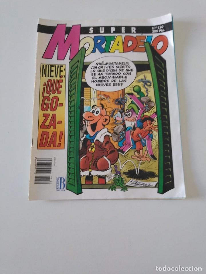SUPER MORTADELO NÚMERO 120 1993 EDICIONES B (Tebeos y Comics - Bruguera - Mortadelo)