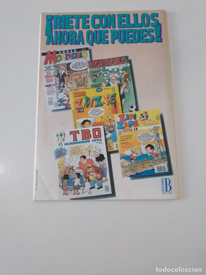 Tebeos: Mortadelo Extra número 28 1992 Ediciones B - Foto 2 - 205847100