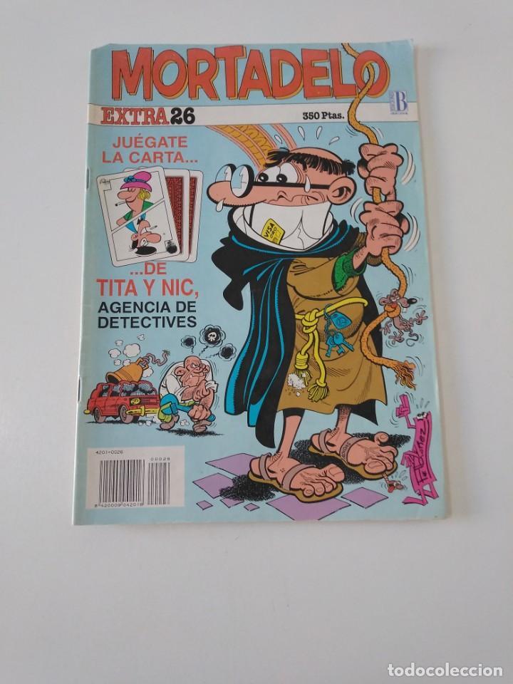 MORTADELO EXTRA NÚMERO 26 1992 EDICIONES B (Tebeos y Comics - Bruguera - Mortadelo)
