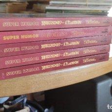 Tebeos: SUPERHUMOR EDICIONES B 6 TOMOS EN BUEN ESTADO. Lote 205848712