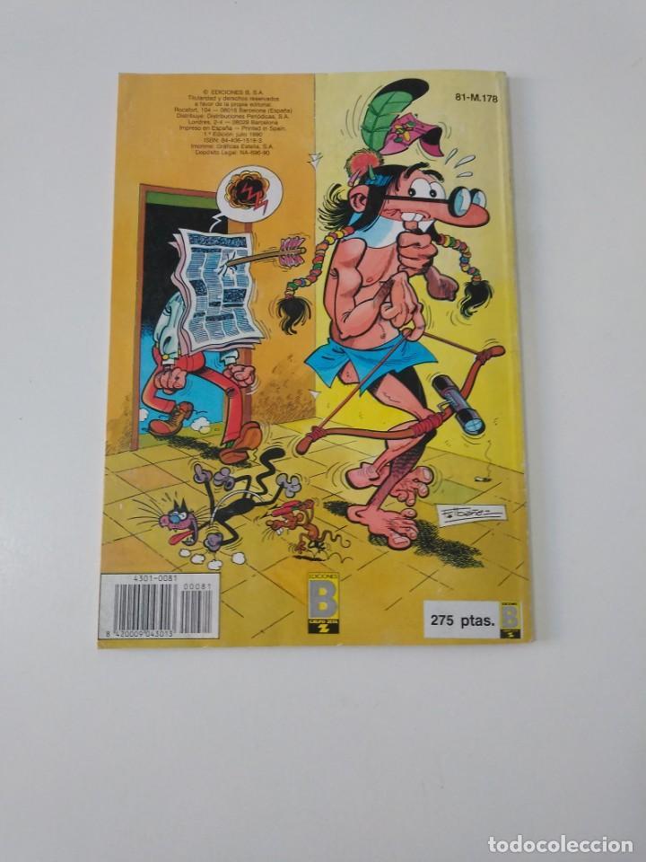 Tebeos: Mortadelo número 81 Colección Olé 1 Edición 1990 Ediciones B - Foto 2 - 205849756