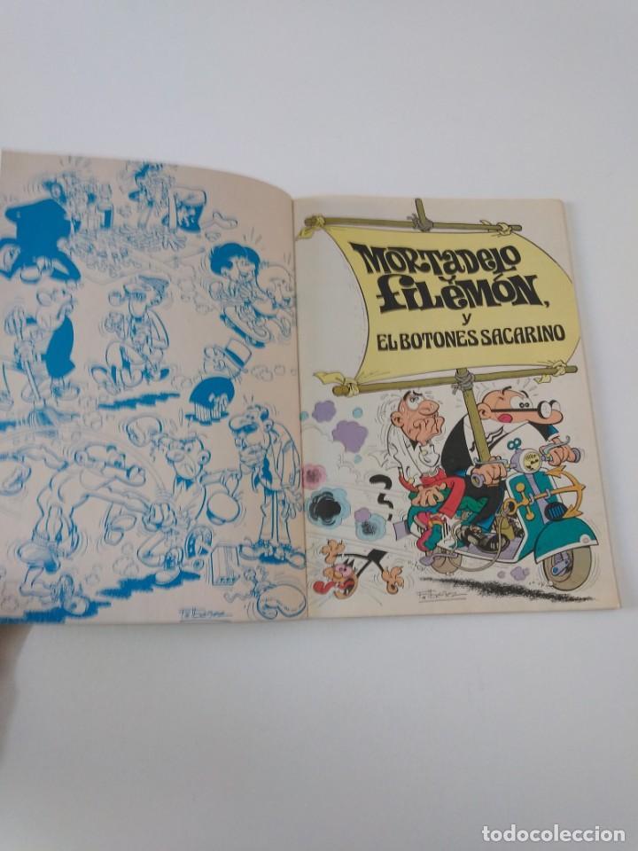 Tebeos: Mortadelo número 81 Colección Olé 1 Edición 1990 Ediciones B - Foto 3 - 205849756