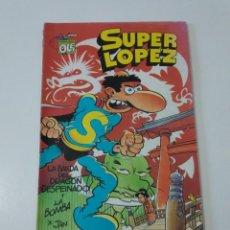 Tebeos: SUPER LÓPEZ NÚMERO 18 COLECCIÓN OLÉ 1990 1 EDICIÓN EDICIONES B. Lote 205851925