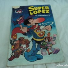 Tebeos: TEBEO ANTIGUO SUPER LOPEZ EL SUPERGRUPO JAN COLECCION OLE BRUGUERA PRIMERA EDICION 1980. Lote 205853783