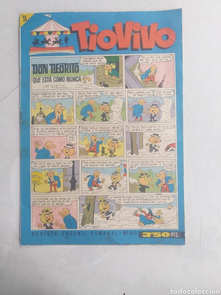 REVISTA JUVENIL SEMANAL - N° 252 TIO VIVO (Tebeos y Comics - Bruguera - Tio Vivo)