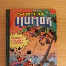 Tebeos: SUPER HUMOR XI (11). MORTADELO Y FILEMON A POR TODAS. EDITORIAL BRUGUERA. 4ª EDICIÓN, 1983.. Lote 206174246
